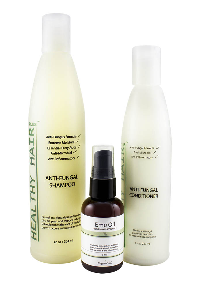 antifungal scalp & hair products kit