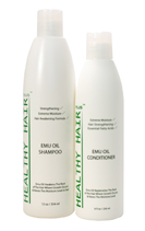 Emu Oil Shampoo for treating sores on the scalp