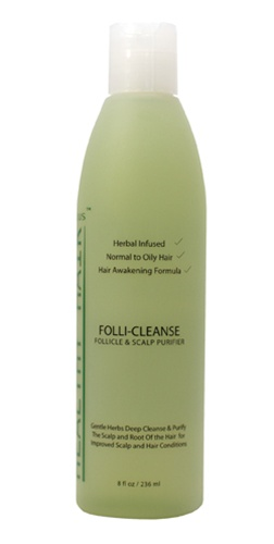 Follicleanse for dandruff and hair loss