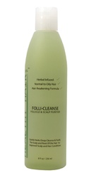 Follicleanse Clarifying shampoo helps with balding