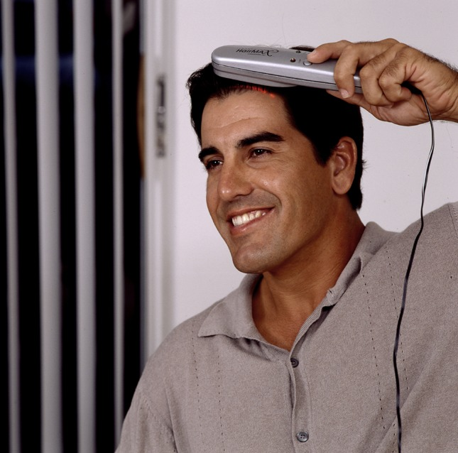 HairMax LaserComb for hair loss