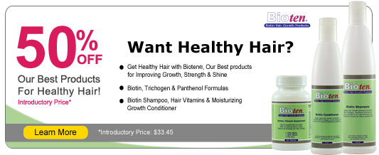 Bioten Healthy Hair Products