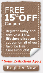 Hair Products Discount Coupon