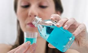 Mouthwash for scalp infection
