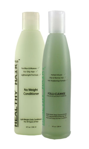 Oily Hair and Scalp Kit by Healthy Hair plus