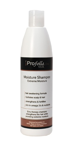 Moisture shampoo for black hair