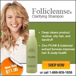 Follicleanse for dandruff and scalp psoriasis