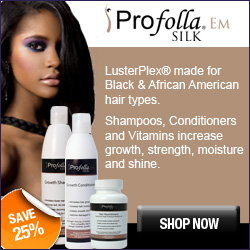 ProFolla Silk hair products for healthy black hair