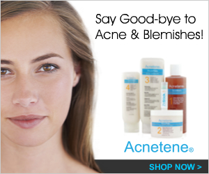 acnetene products for treating acne