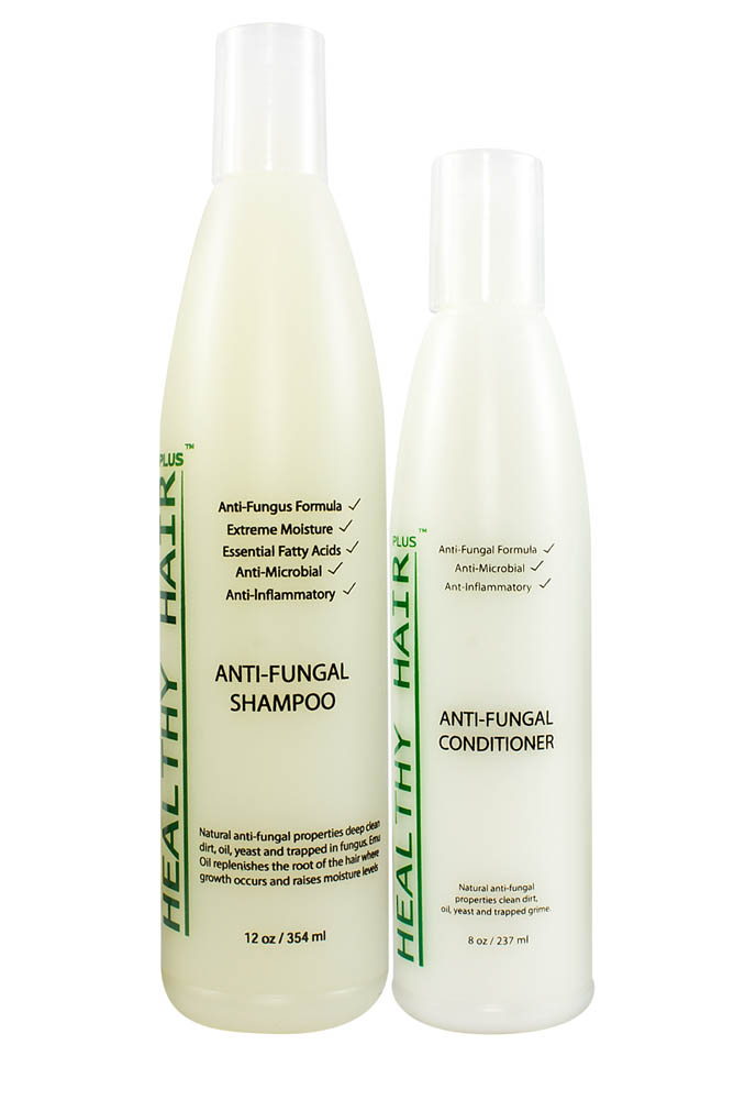 antifungal shampoo and conditioner for ringworm, folliculitis, or dermatitis