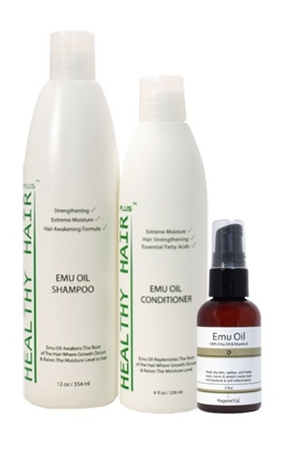 Emu Oil Hair Products Kit/Set