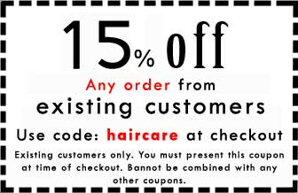 Hair Coupons for HealthyHairPlus for existing customers