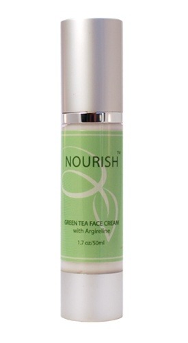 Nourish green tea face cream