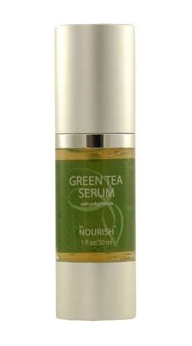 Nourish green tea face serum