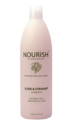 Sleek and Straight shampoo for straight hair