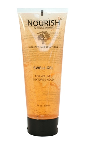 nourish swell gel styling hair gel for men and women